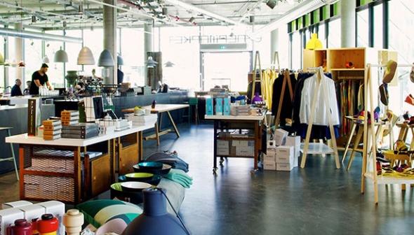 Kávézók, bisztrók és bárok a divatbutikokban