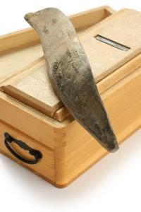 katsuobushi(smoked bonito , one of japanese soup stock materials) and shaving tool