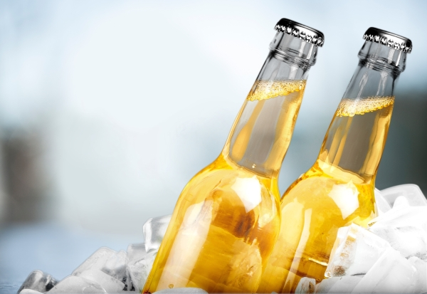 Beer Bottle Beer Ice Summer Drink Ice Cube Alcohol