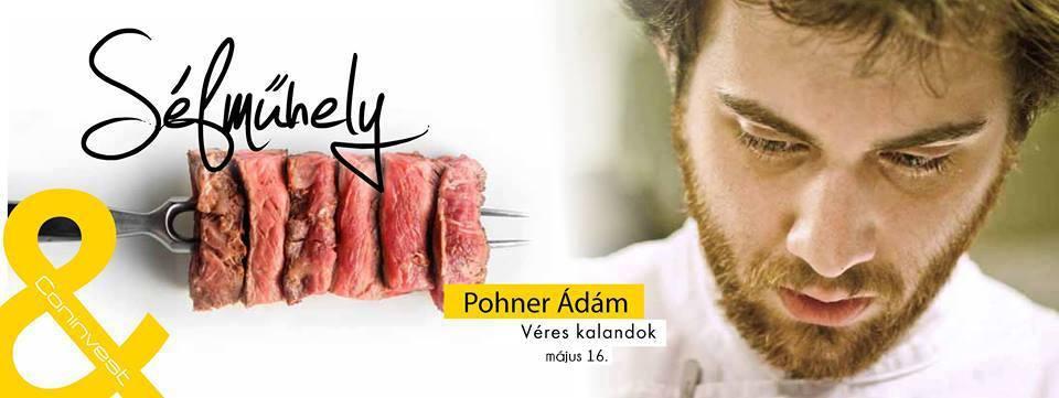 Pohner Ádámmal folytatódik a Séfműhely