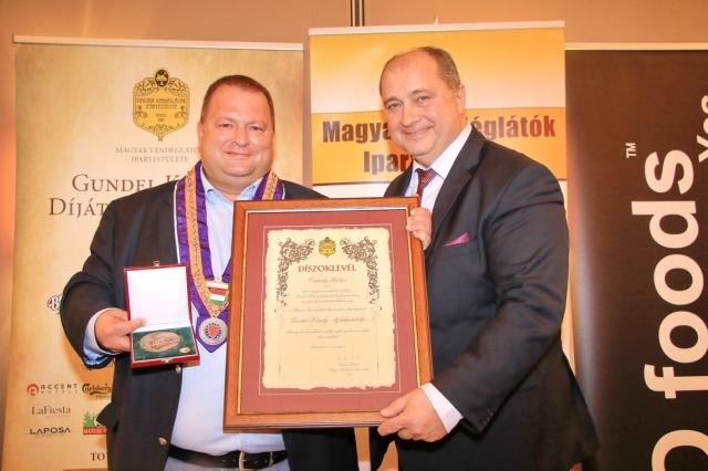 Gundel Károly díjátadó gálaebéd