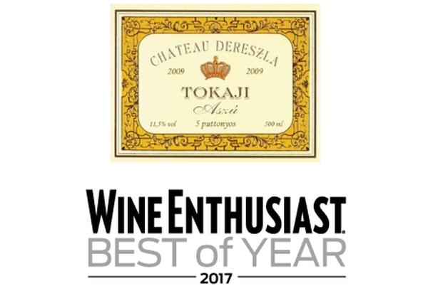 Wine Enthusiast Dereszla tokaji aszú
