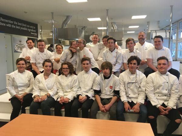 Jótékonysági főzés a Bocuse d'Or Akadémiával