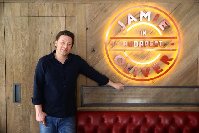 Jamie Oliver Budapesten
