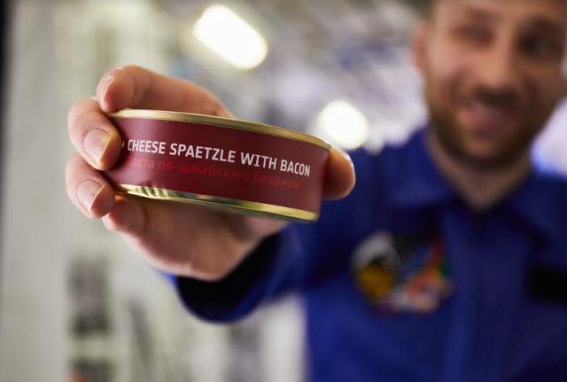 űrhajós menü