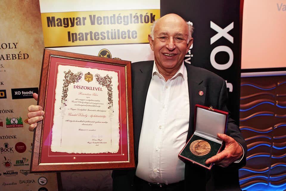 Rosenstein Tibor Gundel Károly-díjas!