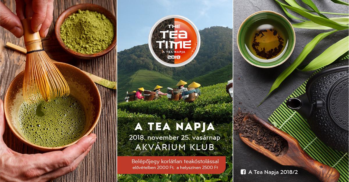 Tea Napja az Erzsébet téren