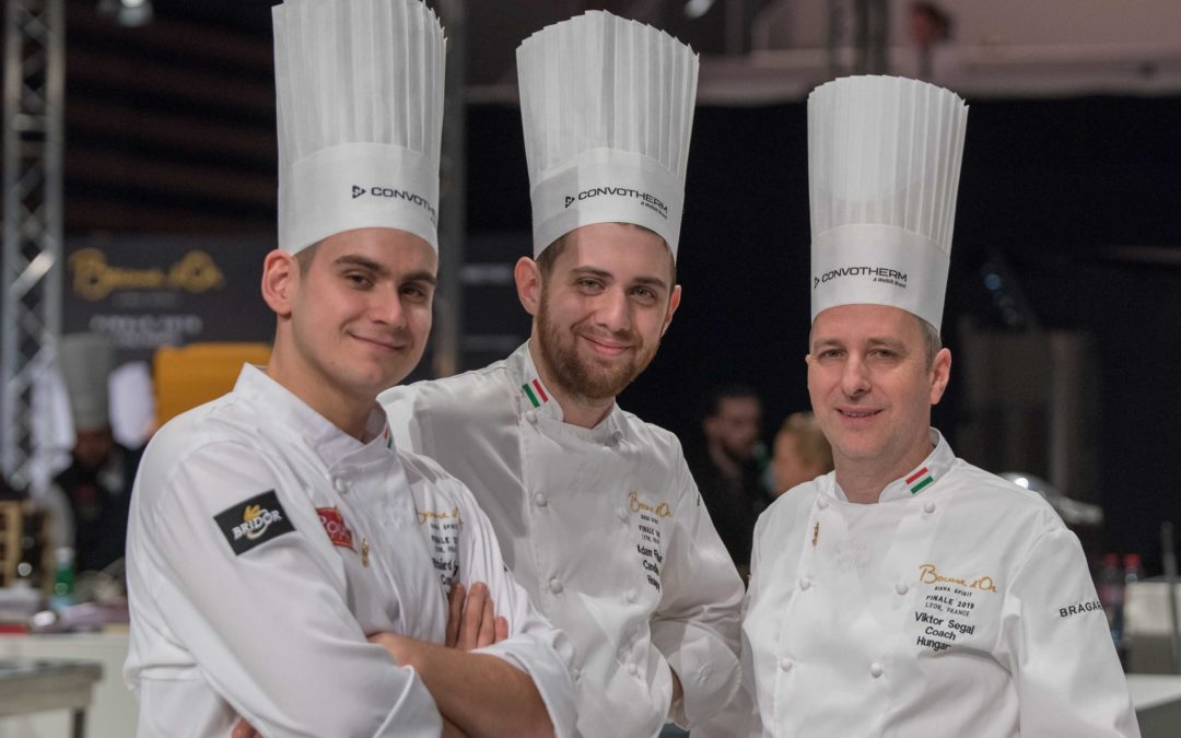 A Bocuse d'Or 3 percben