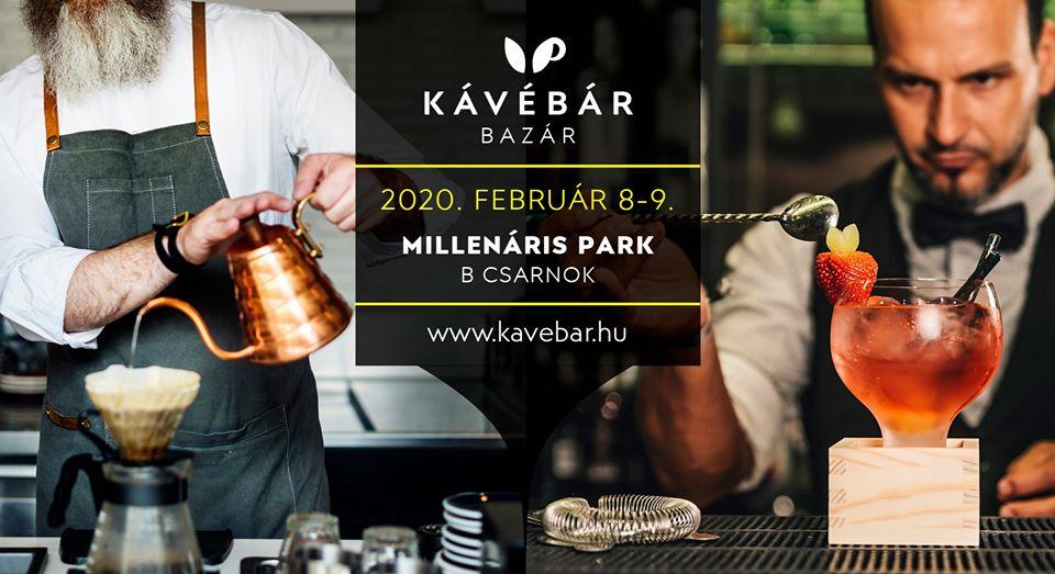 Save the date! KávéBár Bazár 2020 – ismét kávéillat lepi el a Millenárist