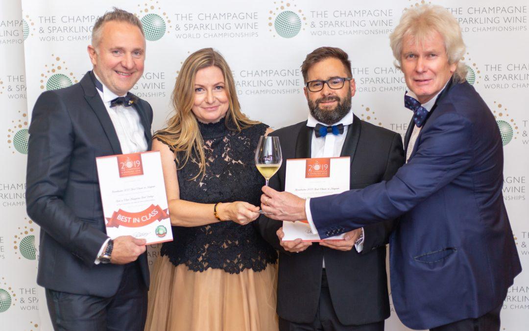 CSWWC National Champion díjas a Kreinbacher pezsgő