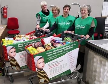 283 tonna tartós élelmiszer segíti a nélkülözőket az  Élelmiszerbank Karácsonyi Adománygyűjtése keretében