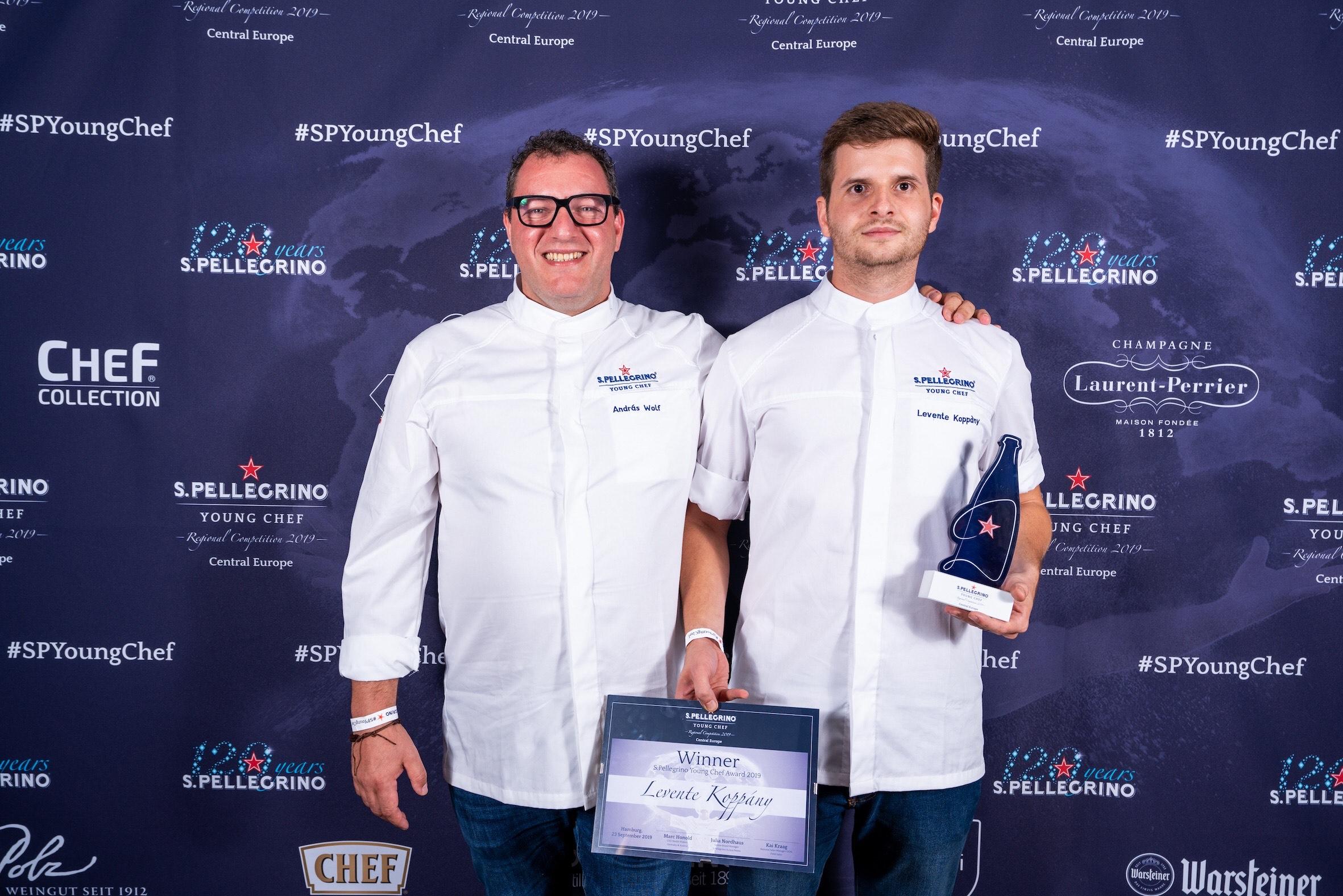 Magyar séf nyerte meg a S.Pellegrino regionális versenyét