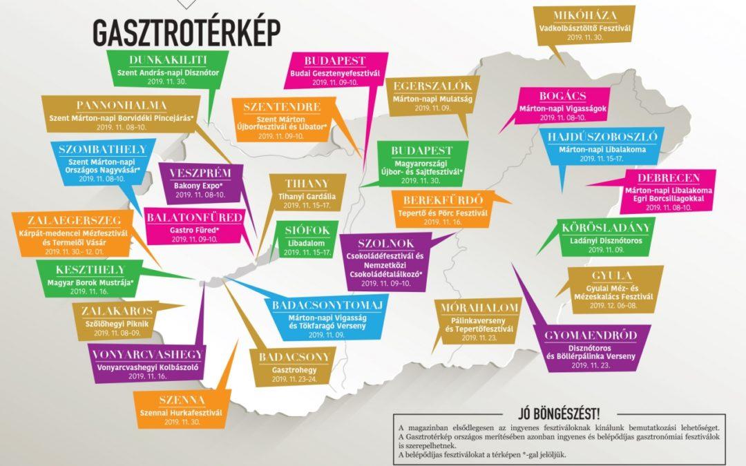 Megjelent a novemberi Ízes Magyarország – lapozzon bele!