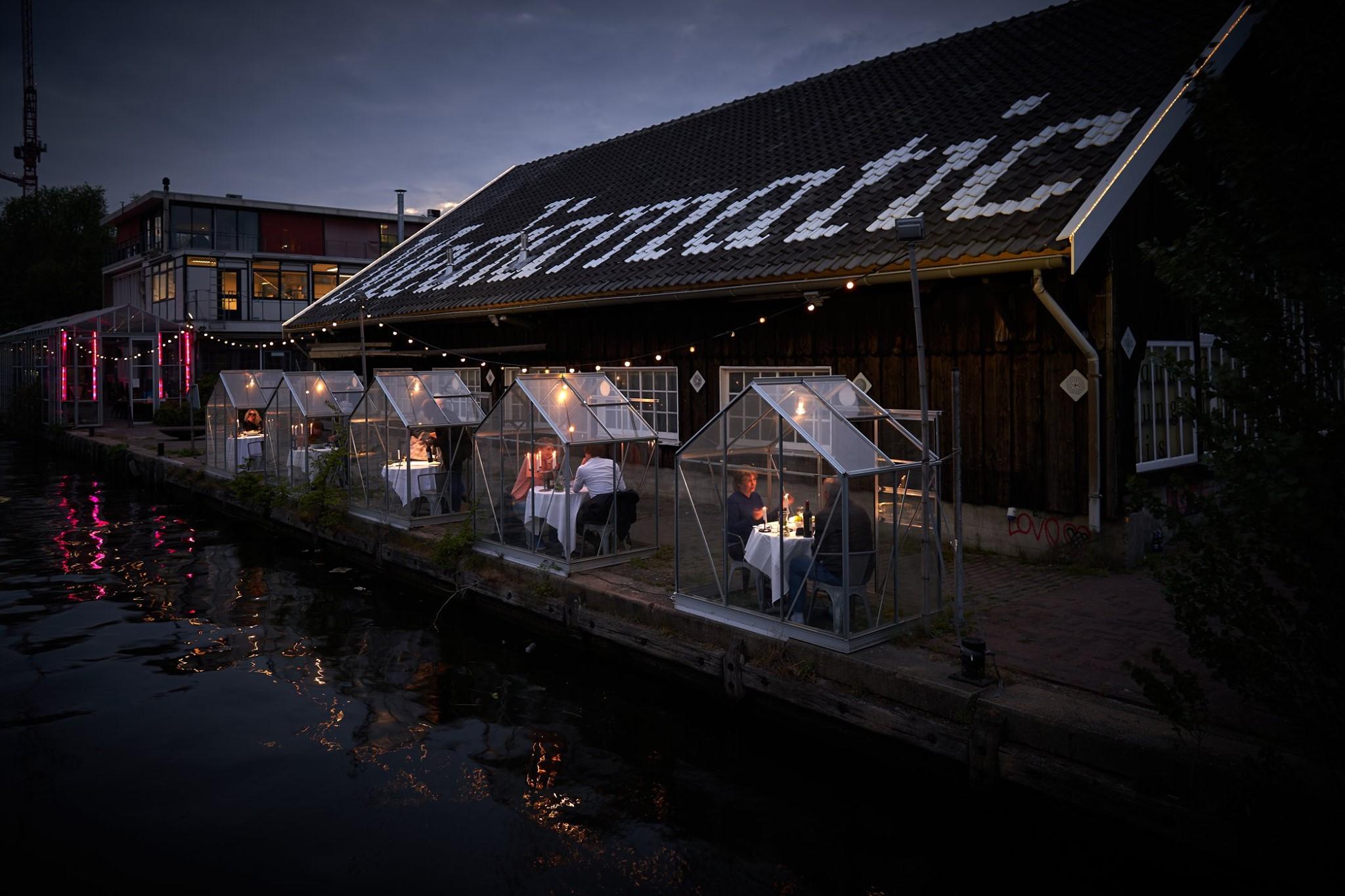Vírusbiztos éttermi élmény Hollandiából