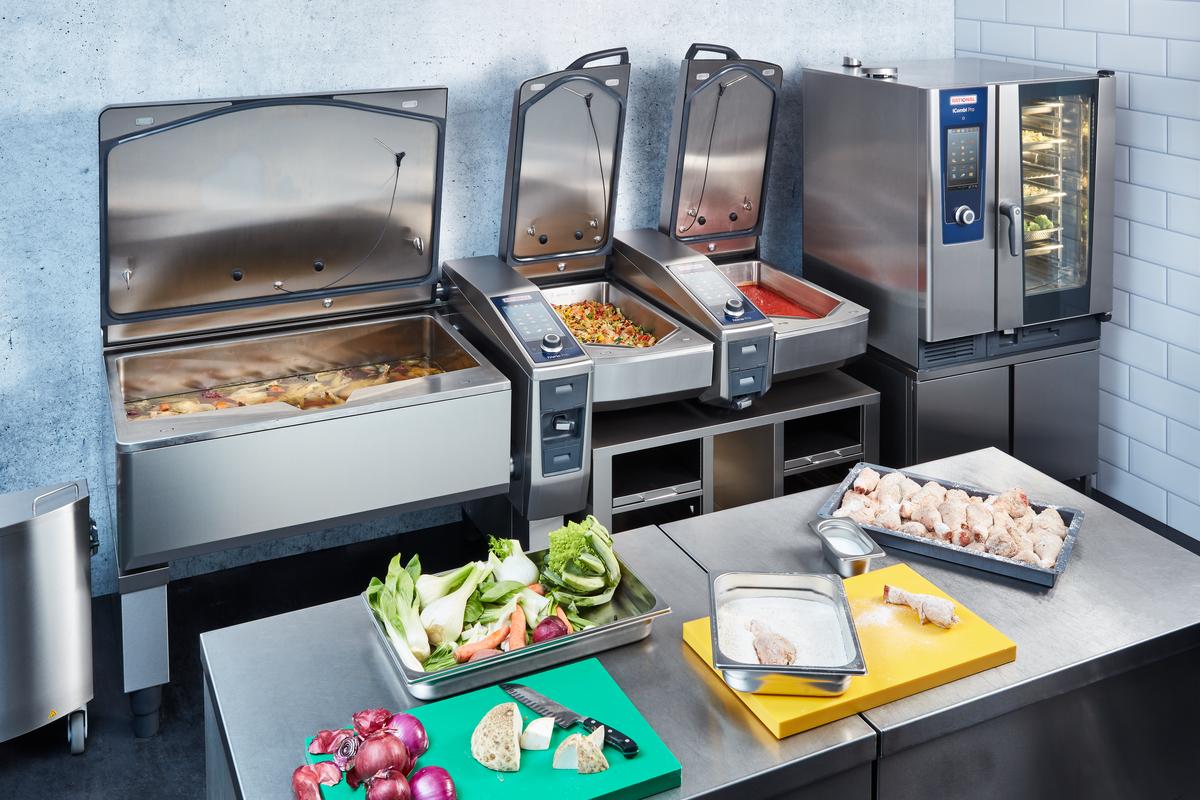 iVario Pro by Rational. A professzionális konyhára vonatkozó új teljesítményosztály.
