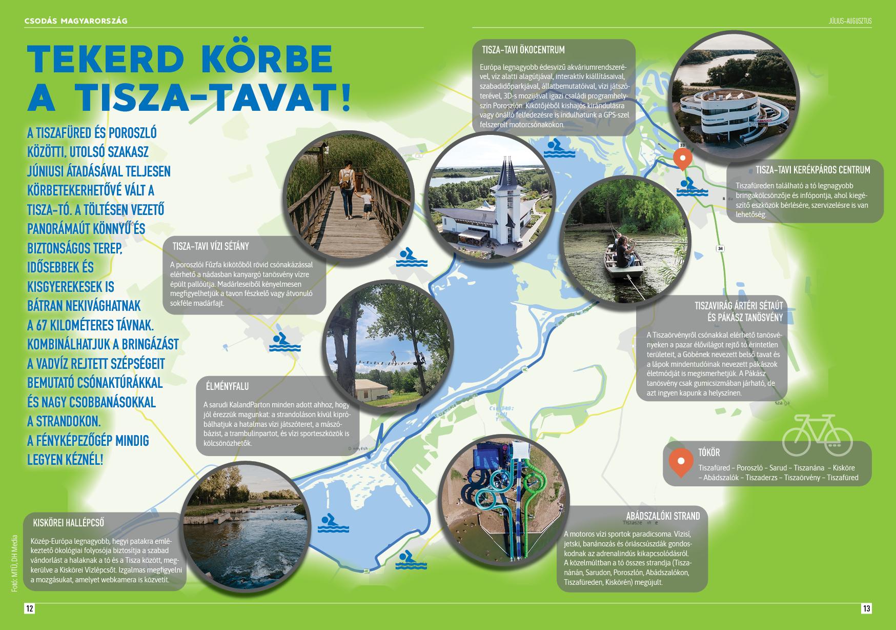 Csodás Magyarország: Tekerd körbe a Tisza-tavat!