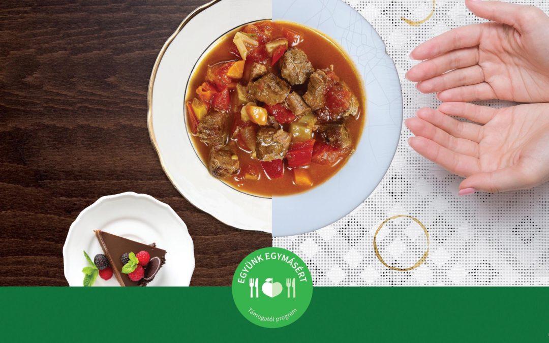 Az Élelmiszerbank elindítja Együnk Egymásért kampányát