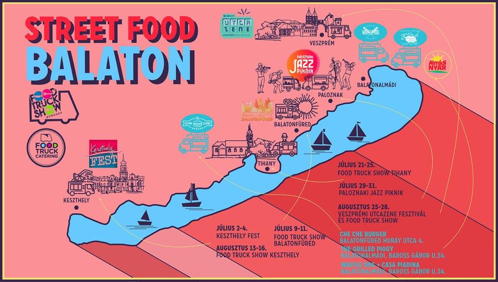 Street food őrület a Balatonon!