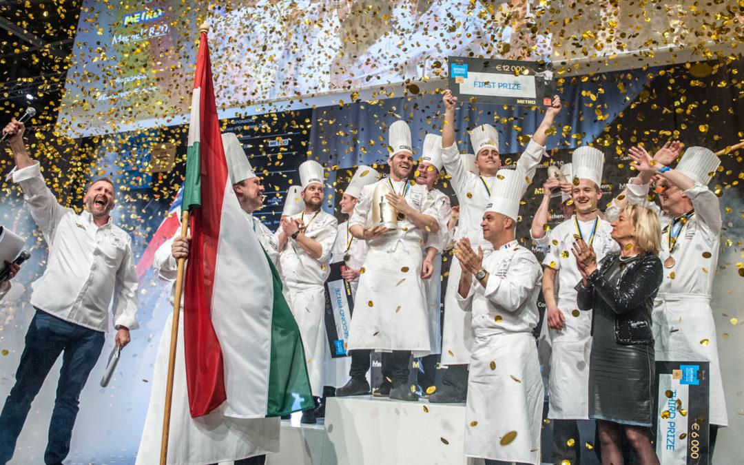2022 márciusában Budapest ad otthont a Bocuse d'Or európai döntőjének!